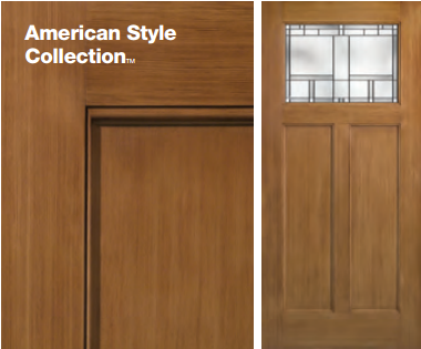 Classic-Craft American Style Door & Thermatru Replacement Doors