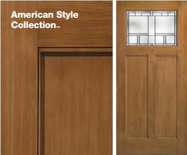Classic-Craft American Style Door