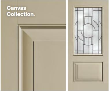 Classic-Craft Canvas Style Door
