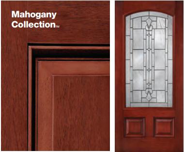 Classic-Craft Mahogany Style Door