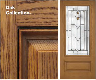 Classic-Craft Oak Style Door