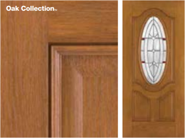 Fiber-Classic Oak Door