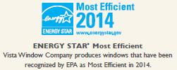 Vista Energy Star Award 2014